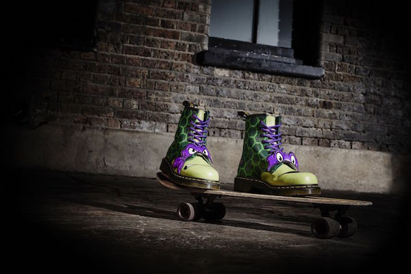 dr martens unveils teenage mutant ninja turtles boot collection