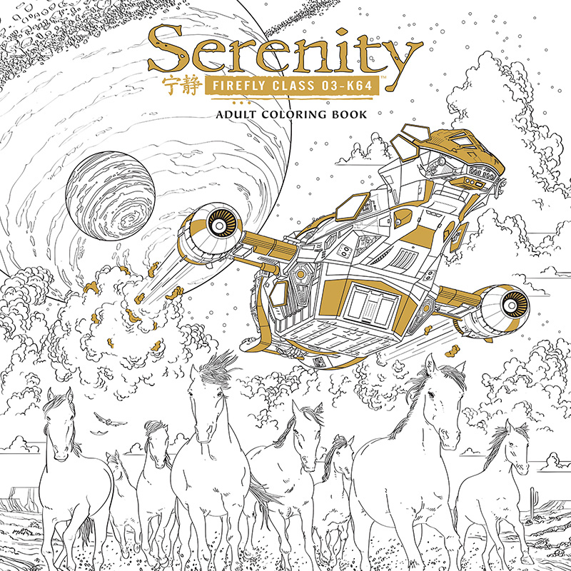 SERENITY and AVATAR Coloring Books Being Released For Adults ...