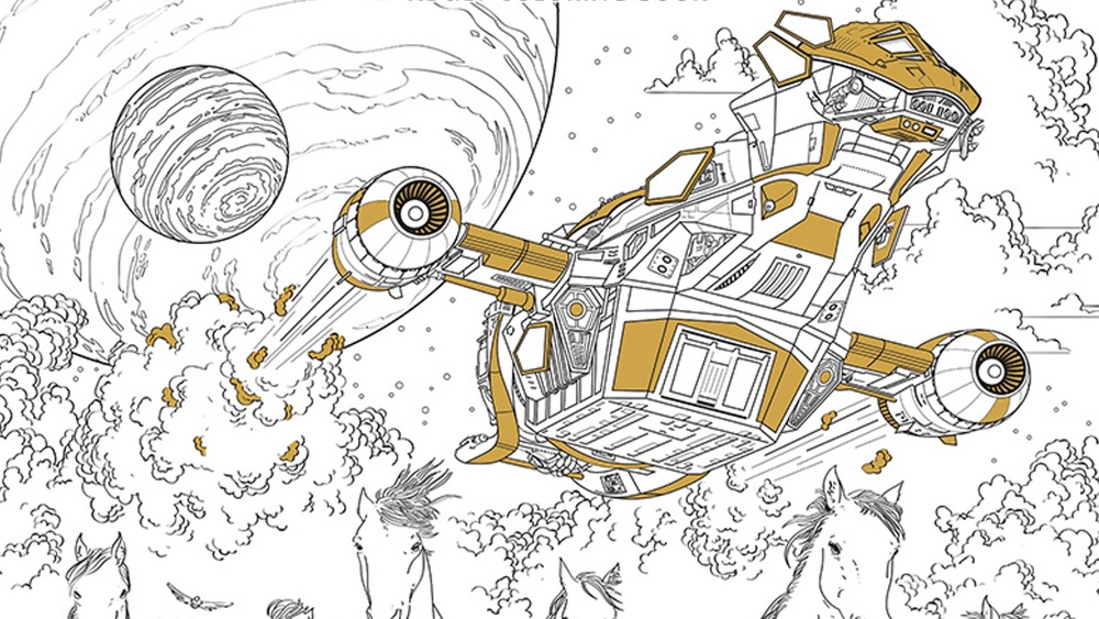 SERENITY And AVATAR Coloring Books Being Released For Adults
