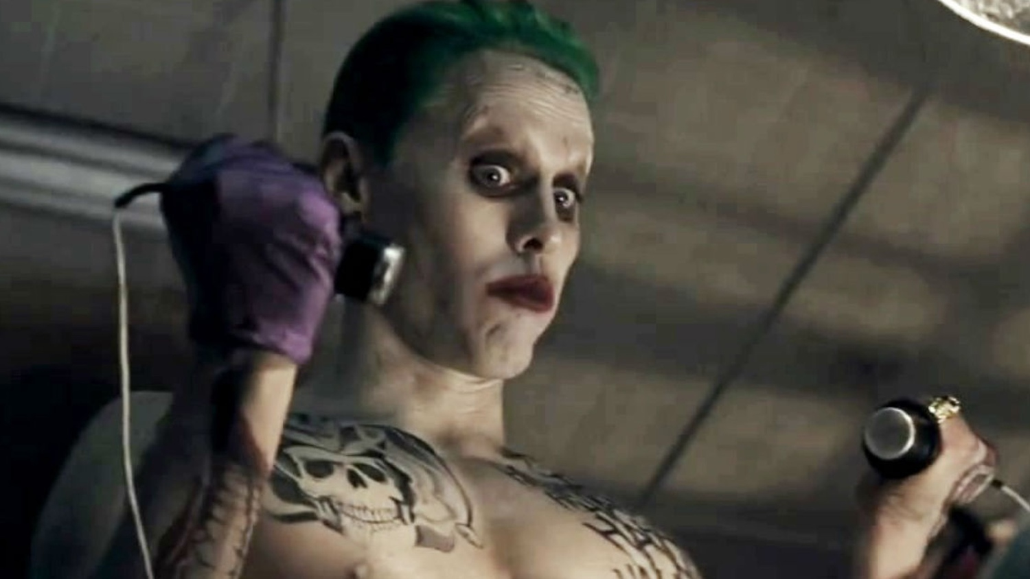 SUICIDE SQUAD - The Joker\'s Tattoos and Teeth Tell a Story That Are ...