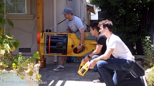Witness The World's Largest NERF Gun in This Amazing Video!