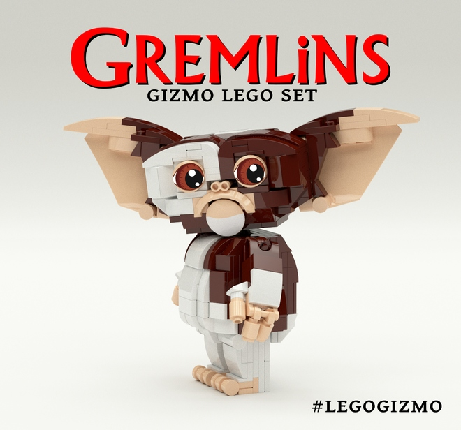 How To Build A Lego Gremlin