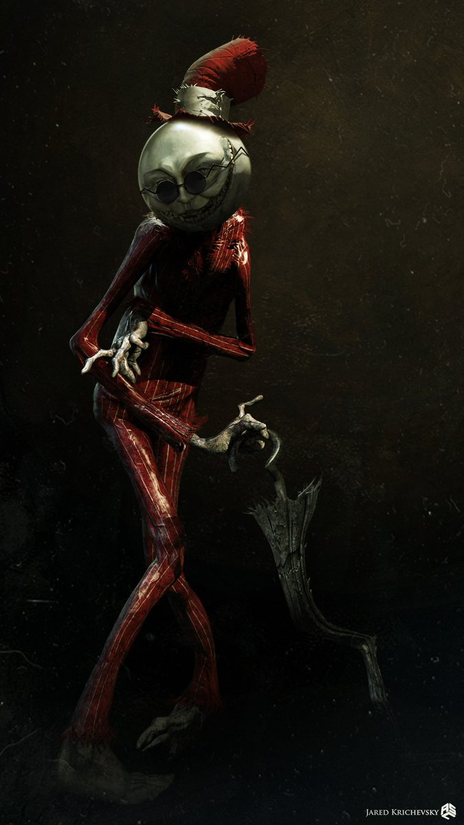 Creepy Alternate Designs for The Crooked Man in THE ...