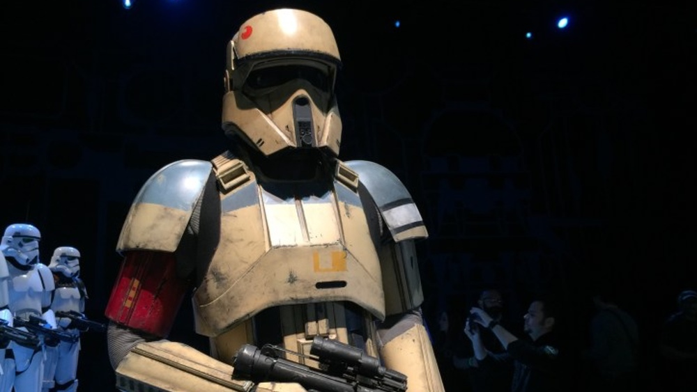 Photos Of Star Wars Rogue One Costumes And Ships From