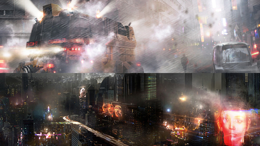 First Official Concept Art For Blade Runner Sequel