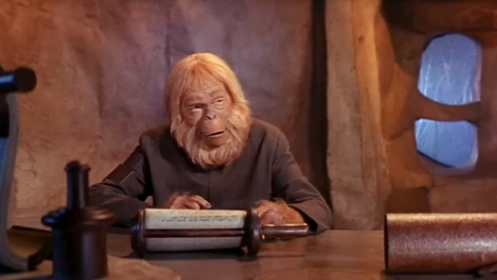 Humor: Dr. Zaius Talks About The Groundbreaking