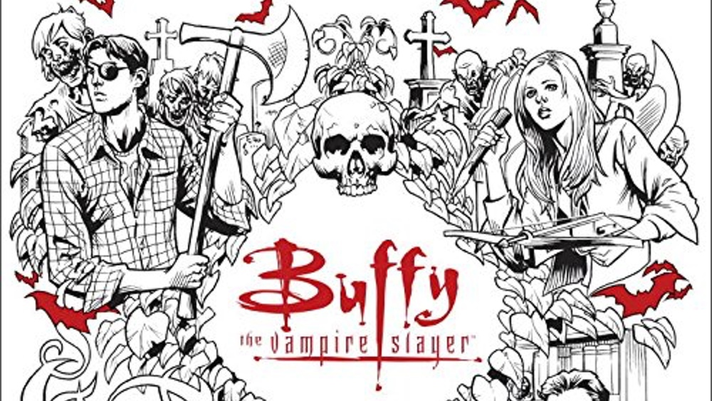 BUFFY THE VAMPIRE SLAYER Gets Its Own Adult Coloring Book GeekTyrant