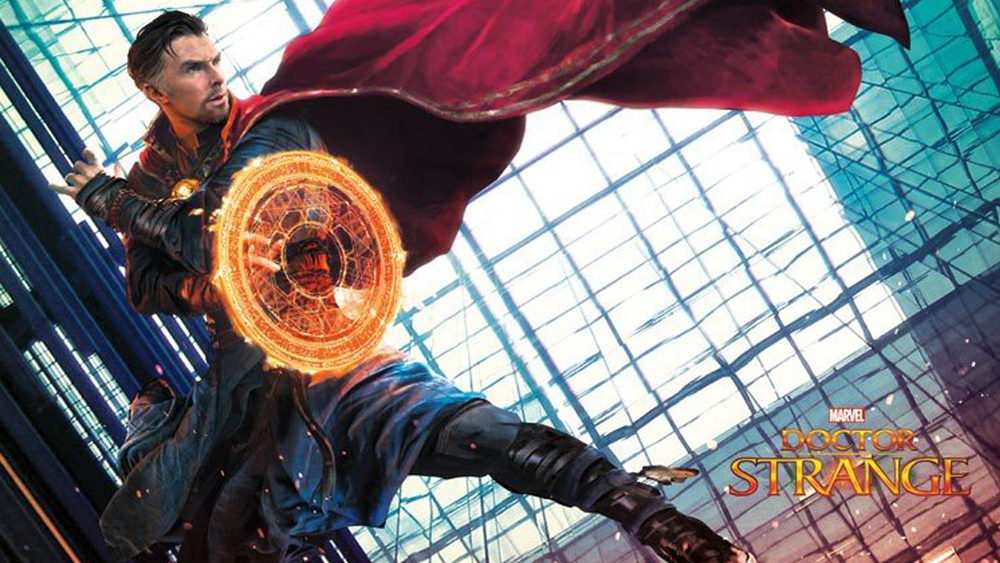 new doctor strange banner and a closer look at the eye of