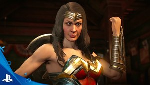 Wonder Woman And Blue Beetle Throw Down In Latest INJUSTICE 2 Trailer