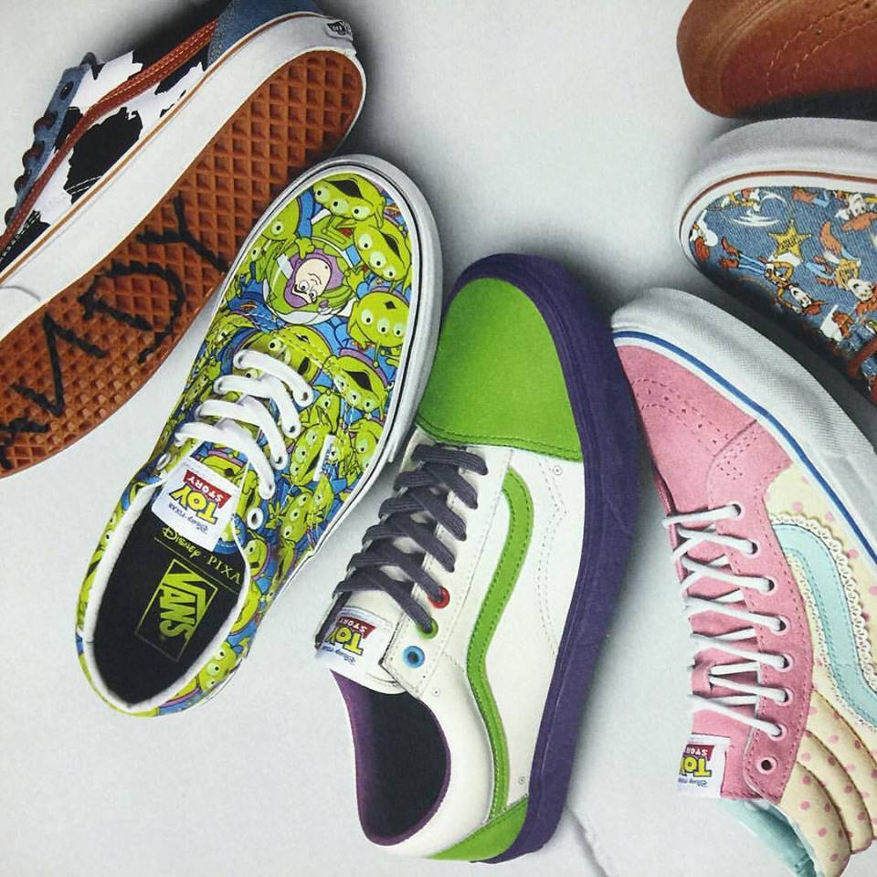 7e8e6eecaefde3 Vans Unveils Their Awesome TOY STORY Shoe Line — GeekTyrant