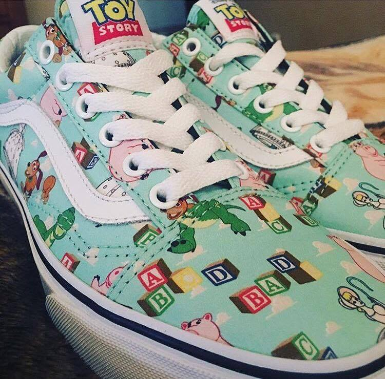 Vans Unveils Their Awesome Toy Story Shoe Line Geektyrant