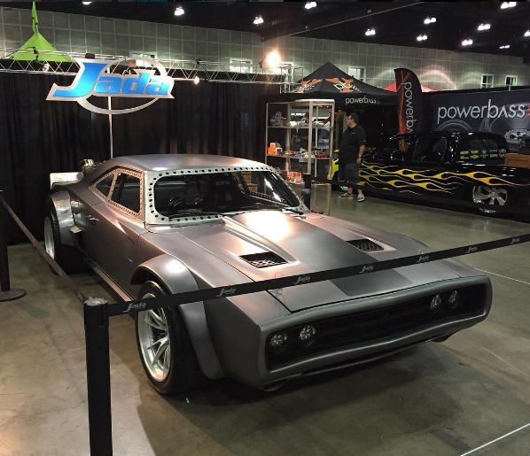 Vin Diesels FAST Dodge Charger Has Been SupedUp With A Jet - Suped up