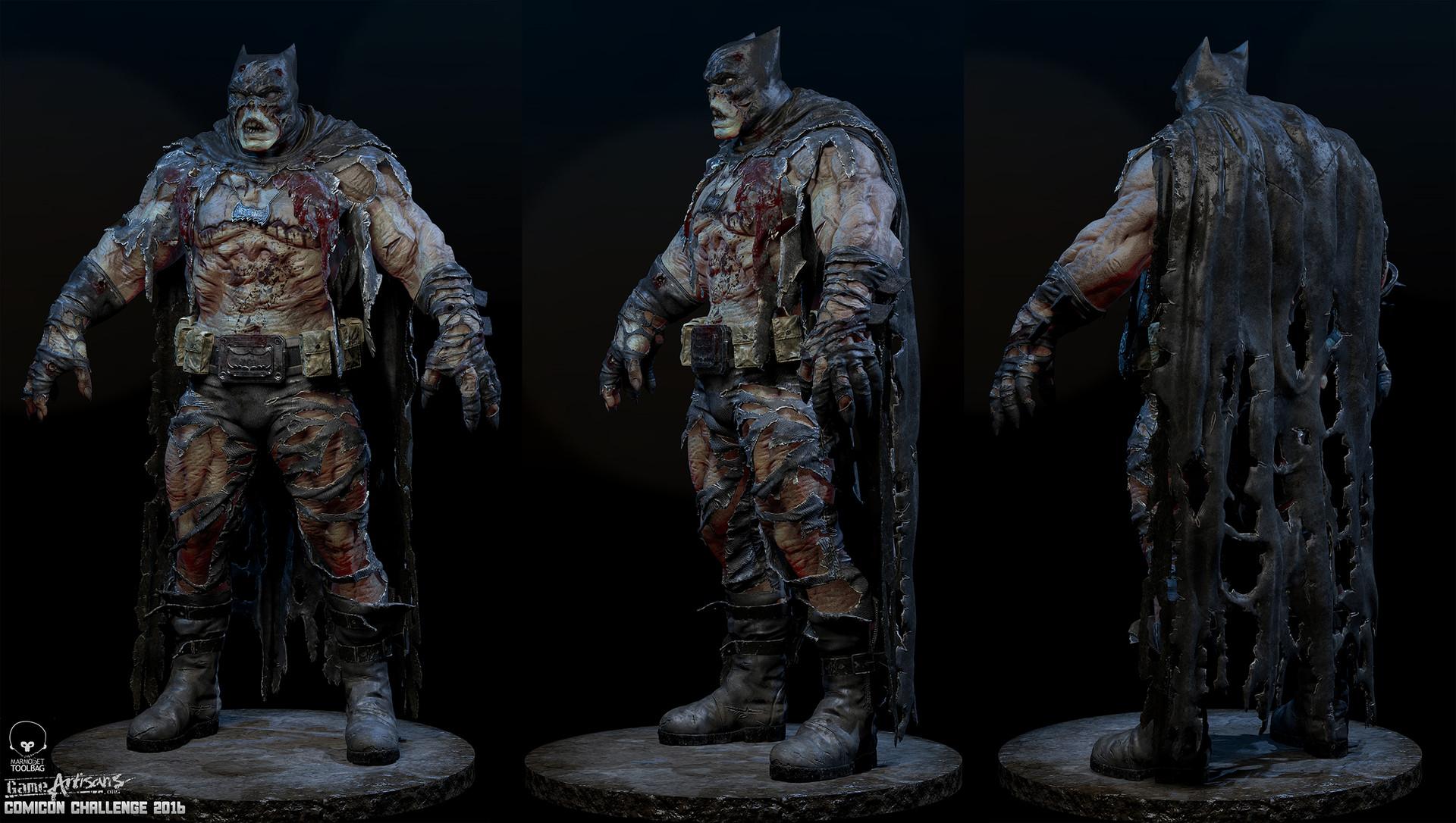 the undead rises in batman and catwoman zombie fan art geektyrant