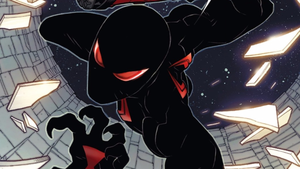 It makes its debut in Spider-Man/Deadpool #8 and his new costume compliments Deadpool with a black and red color ... & First Look at Spider-Manu0027s New Costume in the Comics u2014 GeekTyrant