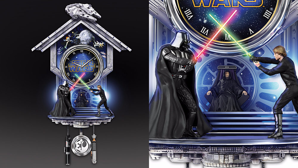 This Star Wars Cuckoo Clock Might Drive Even The Biggest