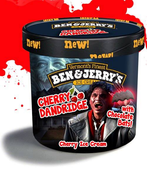 amusing horrorthemed ben amp jerry�s ice cream flavors