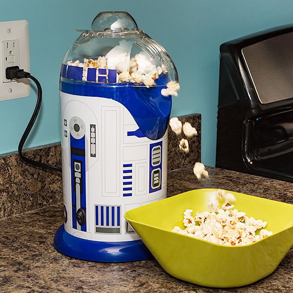 R2-D2 Popcorn Popper, star wars kitchen, star wars kitchen items