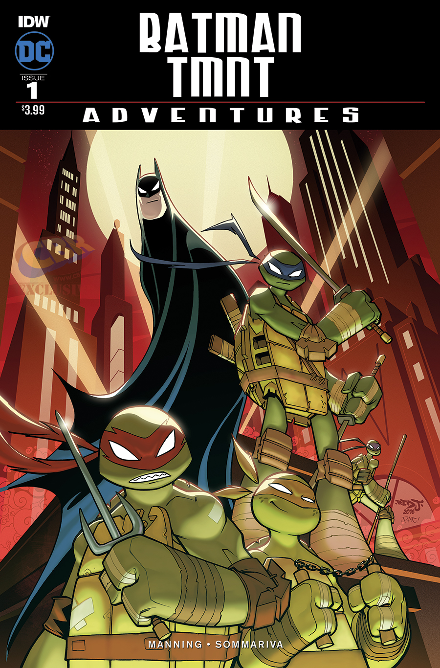 new cover art for the batman the animated series and tmnt. Black Bedroom Furniture Sets. Home Design Ideas