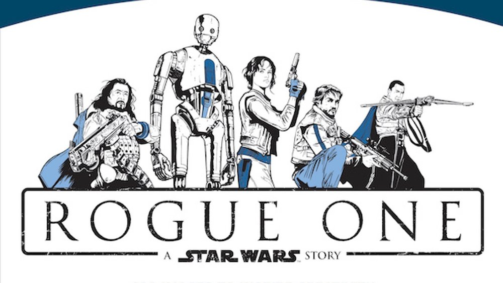 ROGUE ONE: A STAR WARS STORY is The Latest in Adult Coloring Books ...