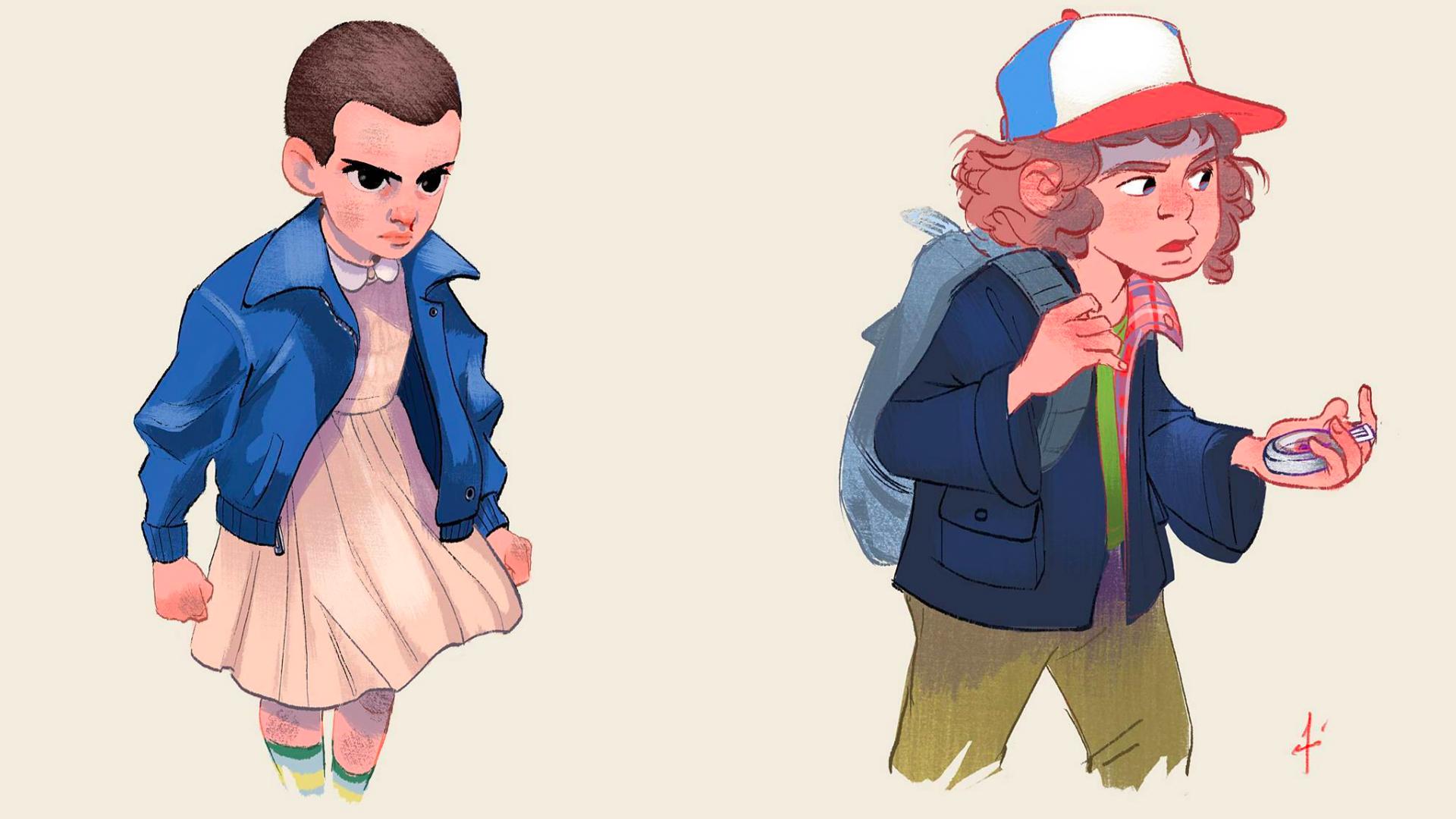 Stranger Things Eleven Concept Art