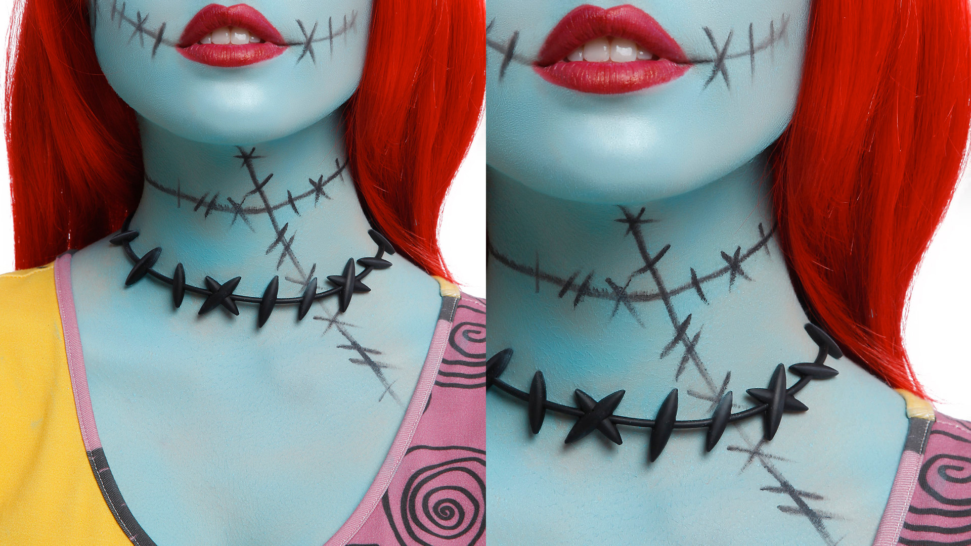 THE NIGHTMARE BEFORE CHRISTMAS Choker Inspired by Sally — GeekTyrant