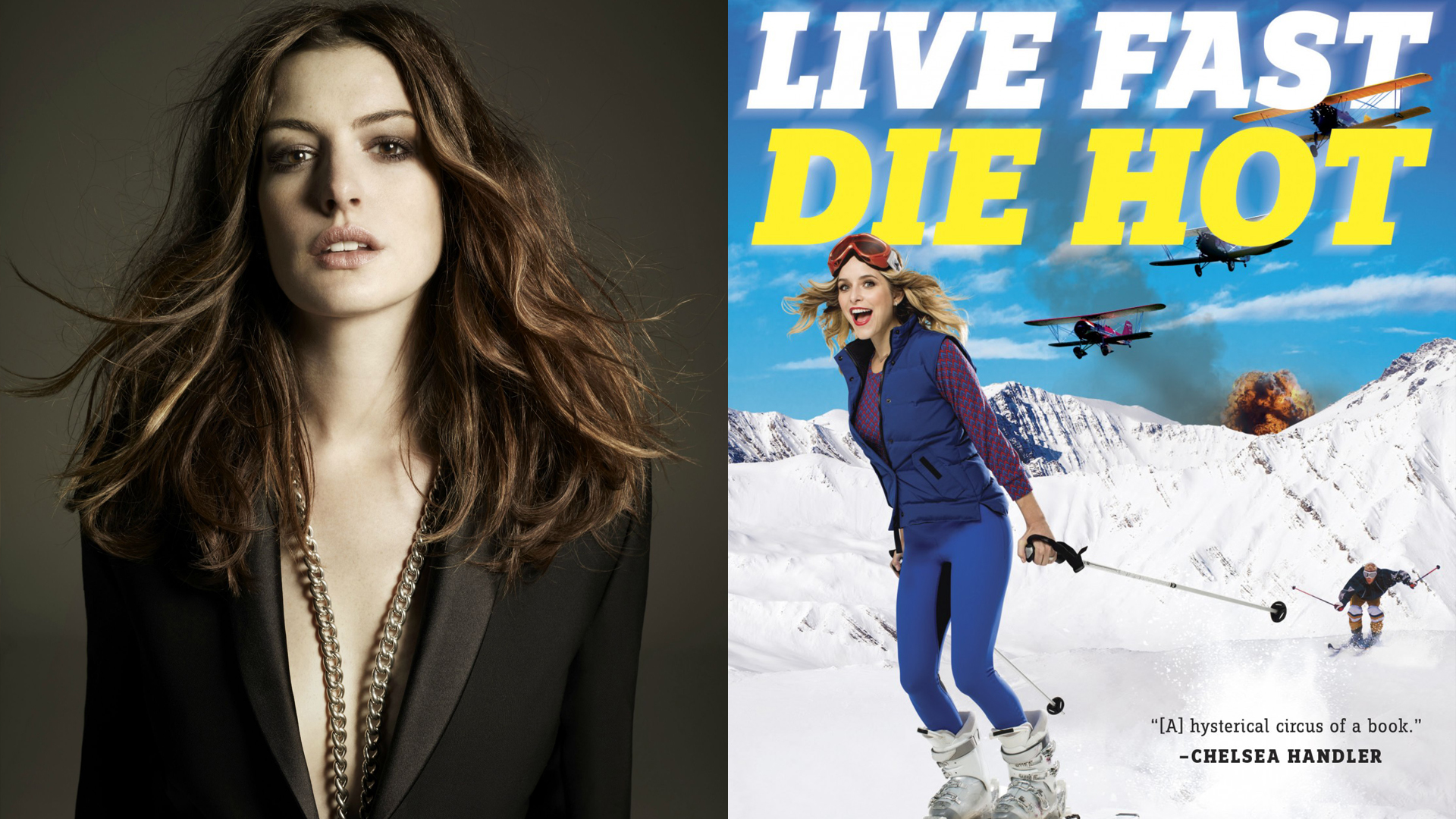 Image result for anne hathaway live fast die hot hd images