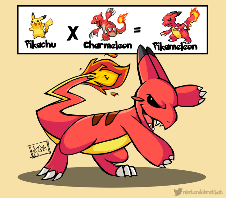 Bien connu Pokémon Fusion Art Series Awesomely Mashes Together Pokémon  SI34