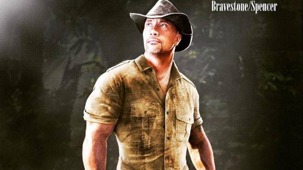 Concept Art Of Dwayne Johnson S Jumanji Character Quot The