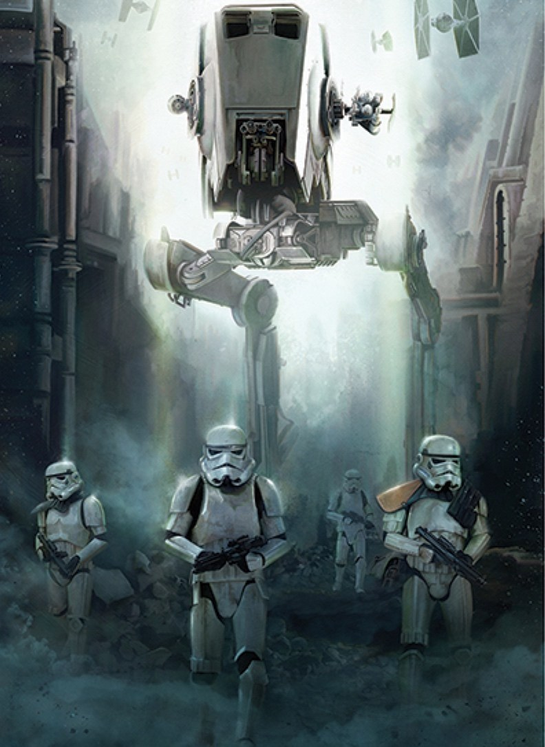 Awesome Collection Of Star Wars Rogue One Promo Art Features New