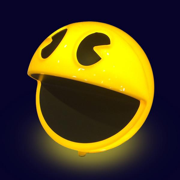 Retro PAC MAN Lamp, Complete With Classic Sound Effects From The Game