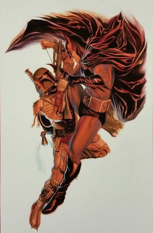 batman-battles-boba-fett-in-epic-new-art-from-alex-ross