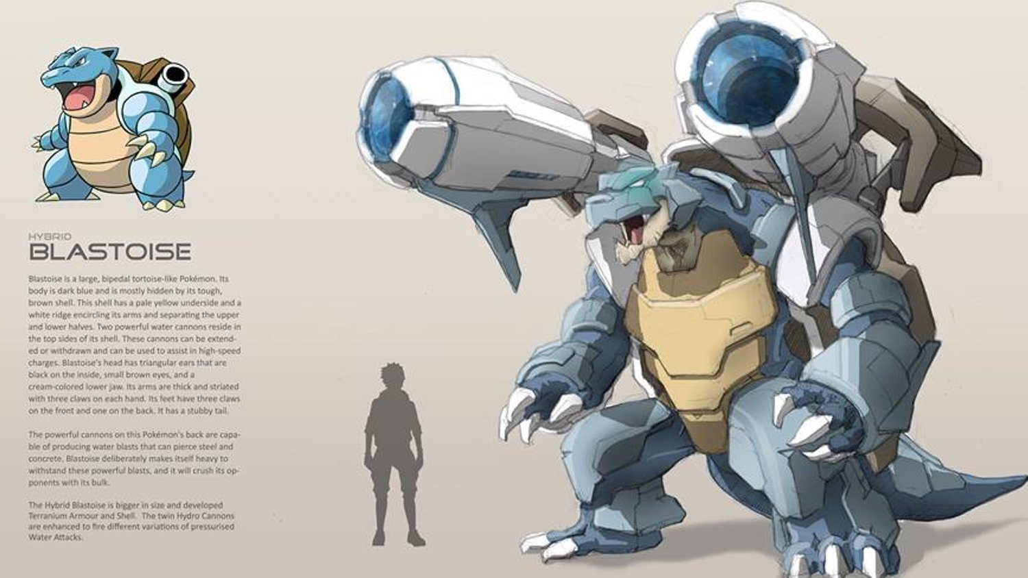 The Post Pokemon Characters Get A Badass Metal Armored Hybrid Upgrade In Fan Art Appeared First On