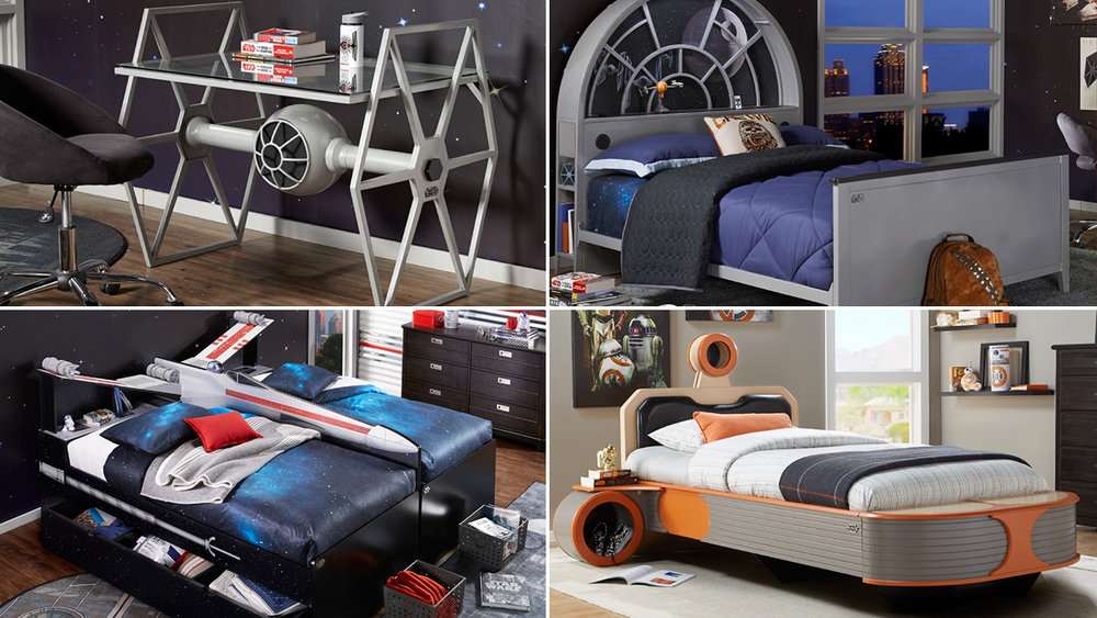 Check Out This Awesome Line Of Star Wars Inspired Furniture