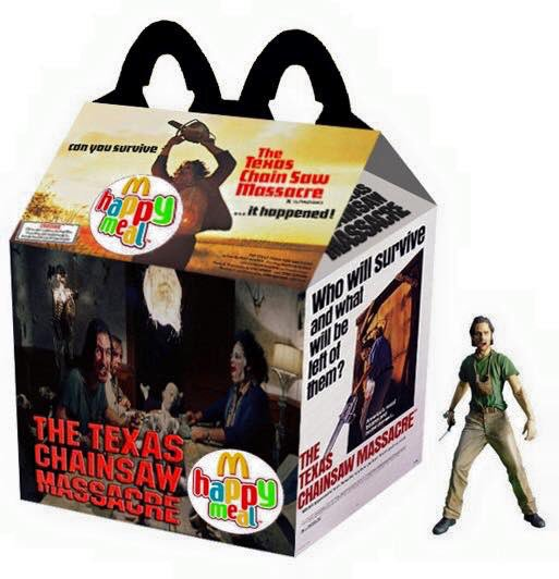 horror movie happy meal designs for strangers things  the