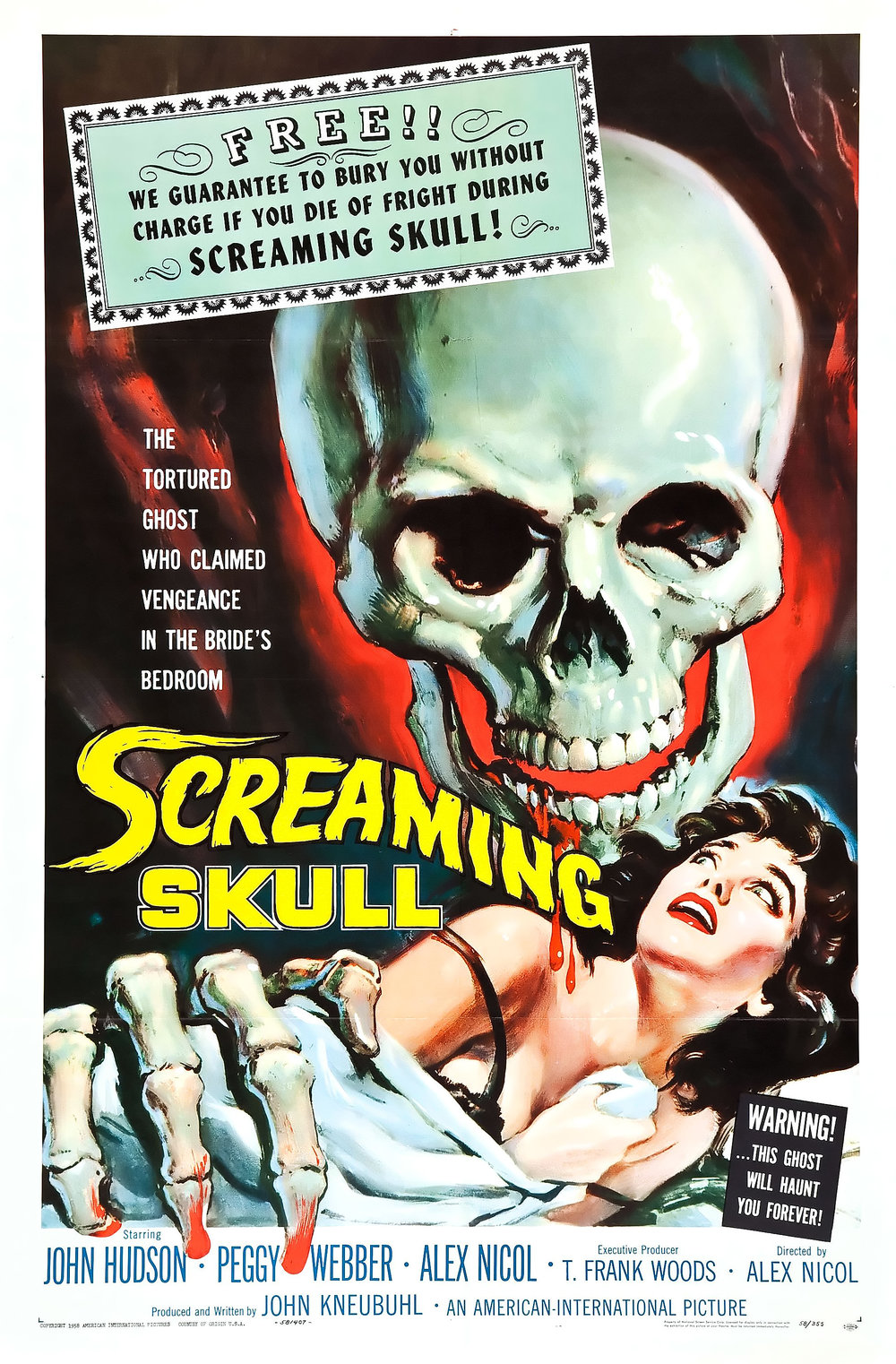 the screaming skull fun 1950s horror movies to