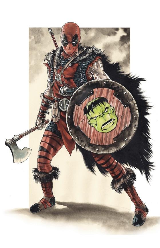 deadpool-and-harley-quinn-reimagined-as-vikings-in-fan-art1