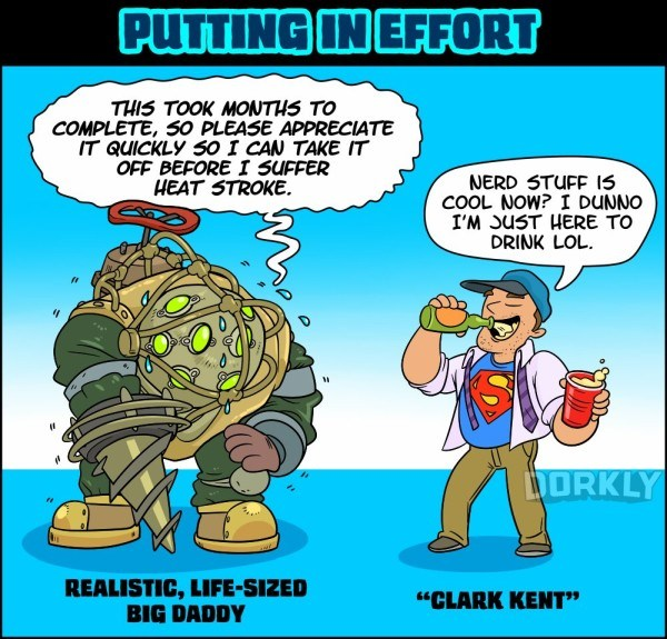 Image of: Can Judge Costume3jpg Geektyrant Funny Comic Shows The Different Kinds Of Geeky Costumes Well See