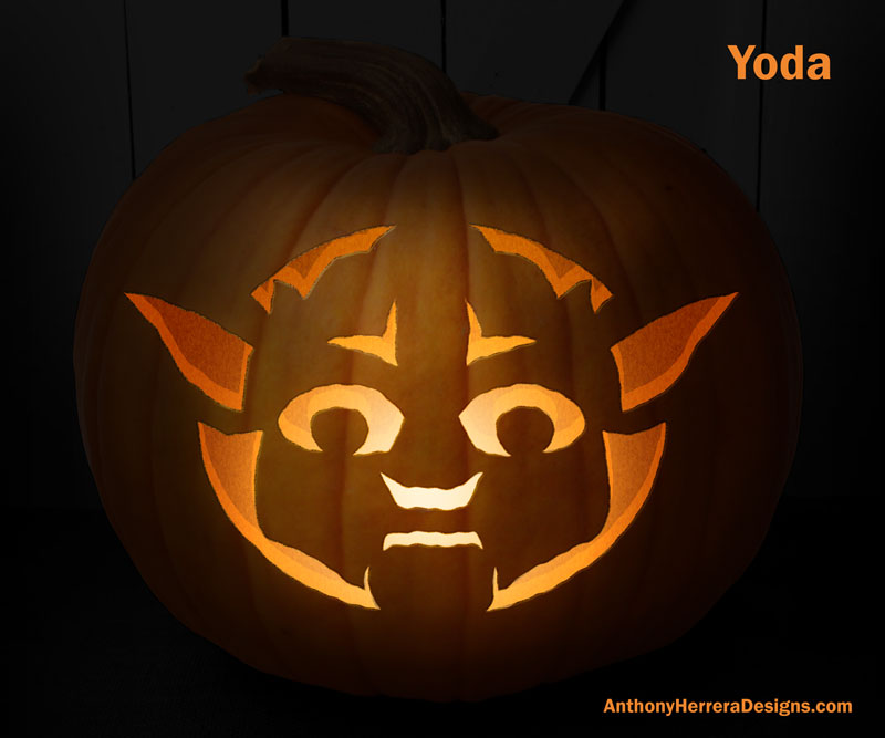 Star Wars Themed Pumpkin Carving Templates Will Give You