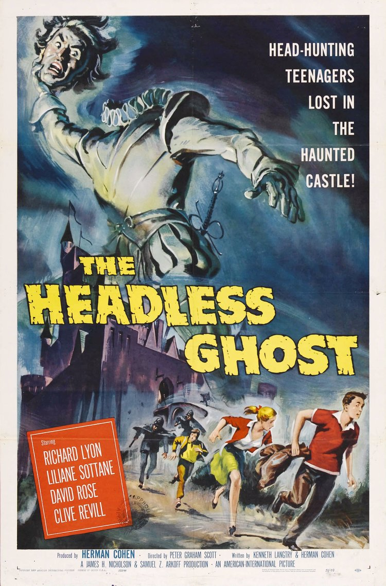 THE HEADLESS GHOST: Fun 1950s Horror Movies to Watch During ...