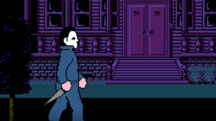 Here's What John Carpenter's HALLOWEEN Would Look Like as an 8-Bit ...