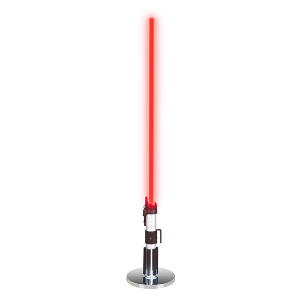 This Lightsaber Lamp Will Keep Your Home From Falling To The Dark Side