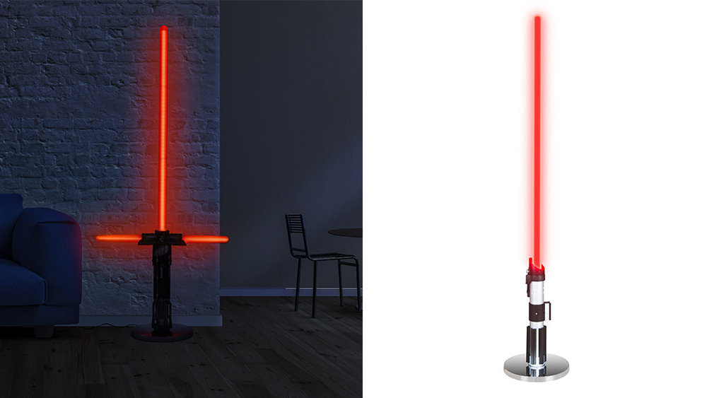 This Lightsaber Lamp Will Keep Your Home From Falling To