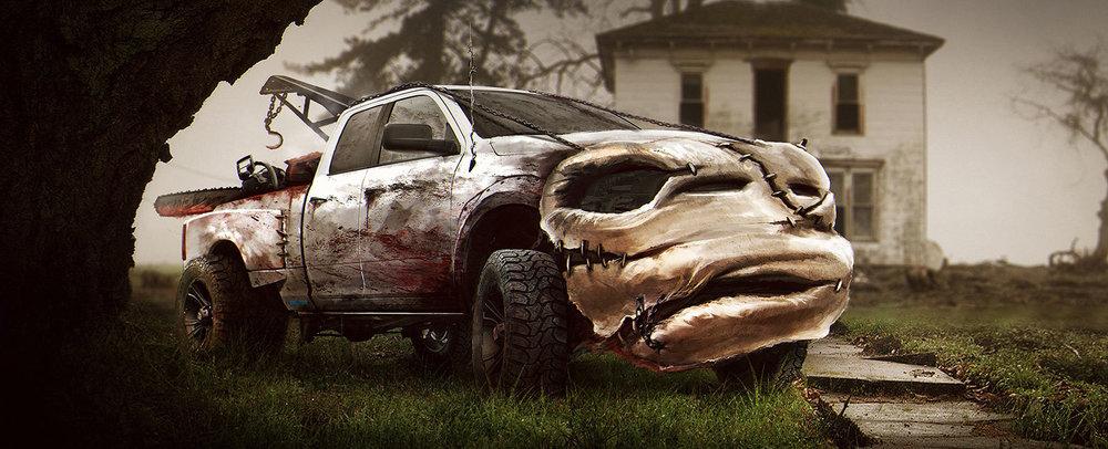 Fun Fan Art Reimagines Cars As Iconic Horror Movie