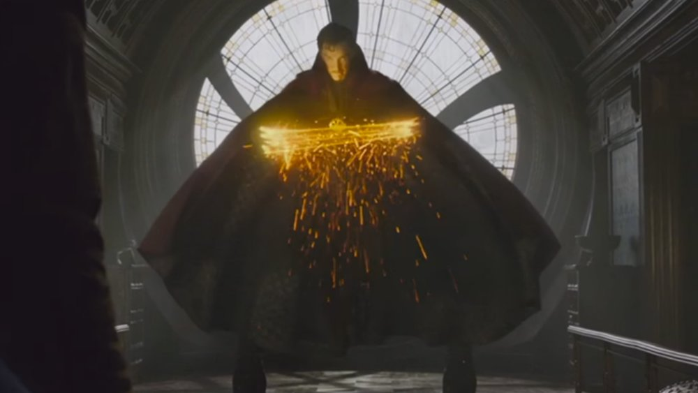 3 doctor strange promos focus on the cloak of levitation