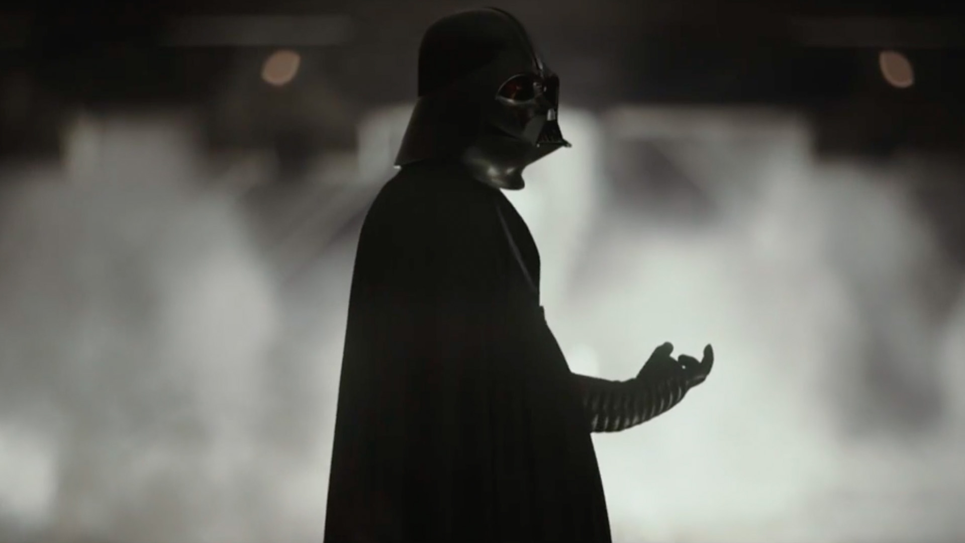 Darth vader shows true skills with the lightsaber