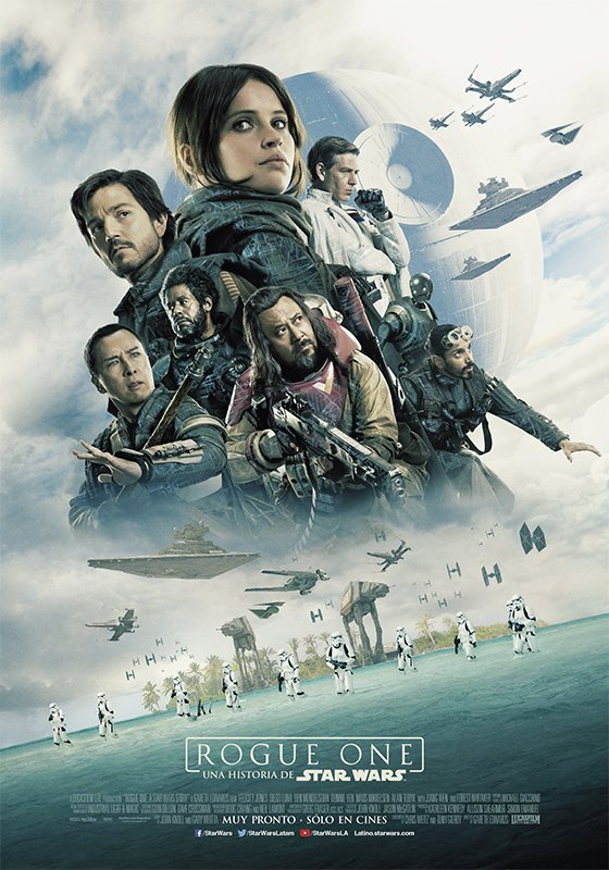 rogue one: a star wars story gets a radical imax poster — geektyrant
