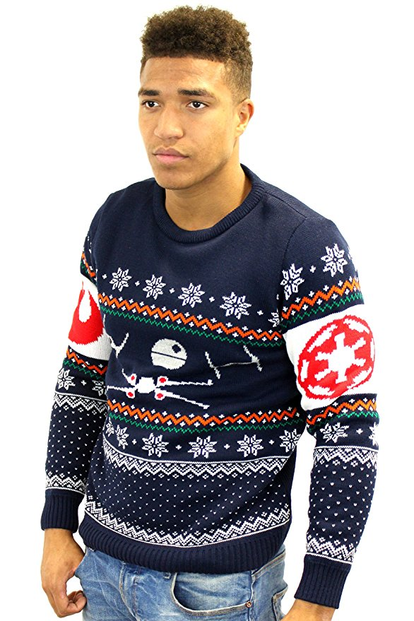 Star Wars Christmas Sweaters/Jumpers. Everything we sell is % officially licensed, so you can be confident anything you buy will be of the highest quality and give you that warm, fuzzy feeling that only comes from supporting the creators. Merchoid Mystery Knitted Christmas Sweater! Christmas Jumpers $ $ Add to Wishlist NFL.