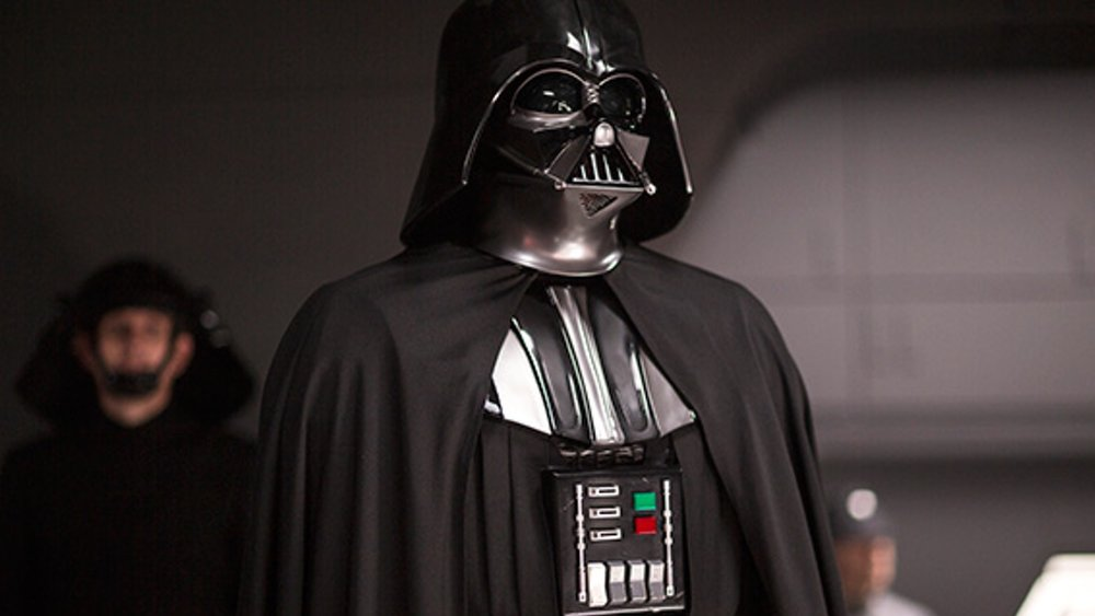 Darth Vader presuit or with suit vs Emperor Palpatine
