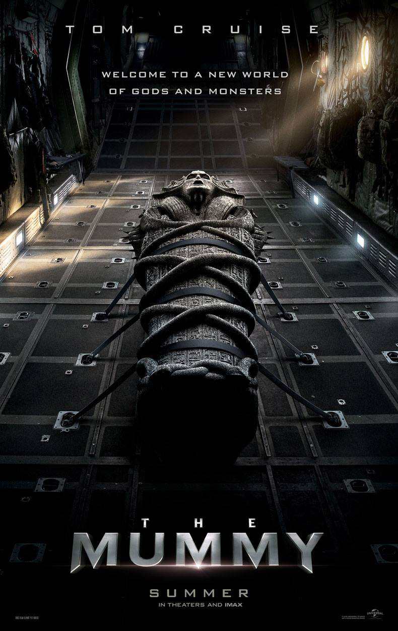 Image result for the mummy tom cruise poster