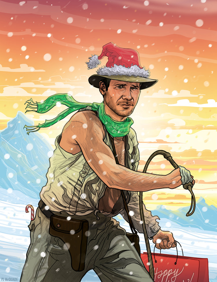 Indiana-Jones-Christmas-Card-PJ-McQuade.jpg